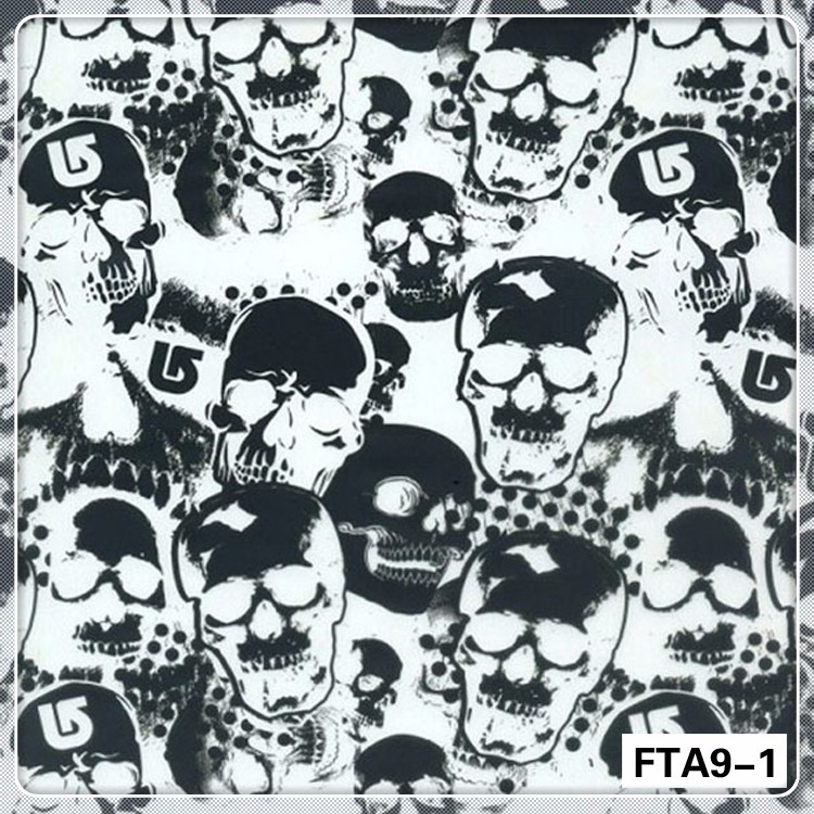 FTA9-1 Super value PVA skull Water Transfer Printing Hydrographics Film