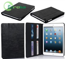 High quality protective pu tablet leather cover for IPad mini