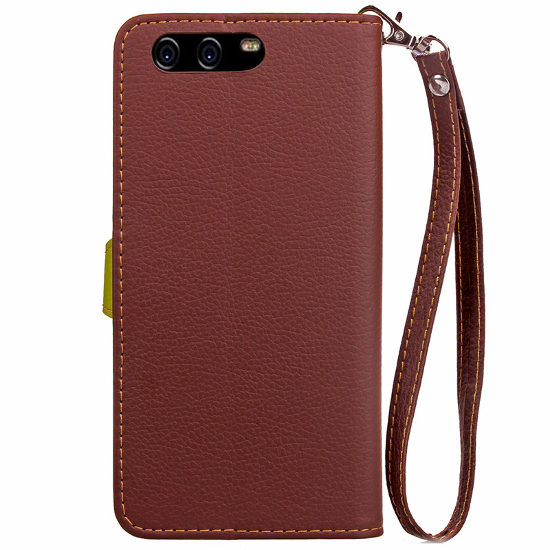 Hot Selling Wholesale Factory Price Mobile Phone Case for Huawei P10 PU Leather Flip Cell Phone Case for Huawei P10
