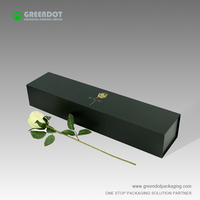 Factory price glossy paper box custom printed cardboard flower packaging box