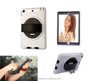 Handheld Hand Hold Rotate Stand Flip Case Back Cover For Apple iPad mini 3
