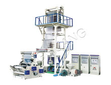 Rotary Die 3 Layer Blown Film Extruder Machine