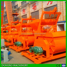 high mixing performance twin shaft concrete mixer