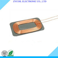 Qi standard popular customize qi wireless charging receiver coil