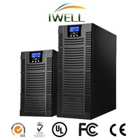 monitoring function pure sine wave 10kva online ups prices with external AGM battery