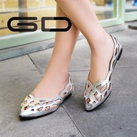 Fashion pretty spring summer branded shoes for girls