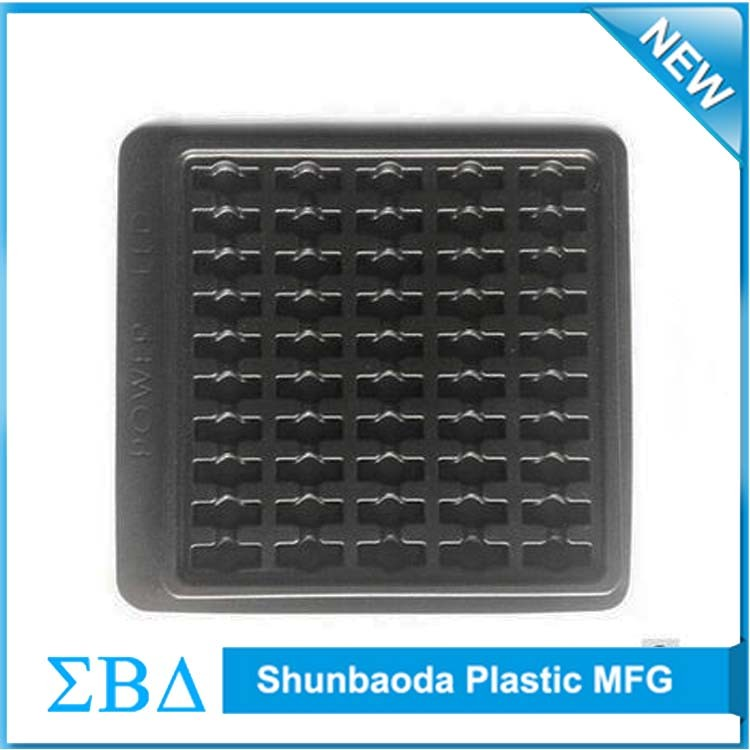 High quality custom Antistatic esd tray, anti-static blister packaging