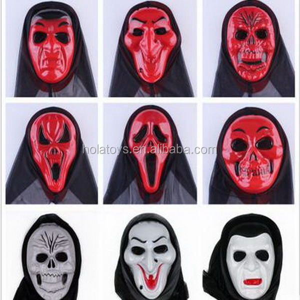 Hola scare face mask halloween costume for adult
