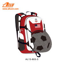 Wholesale world cup soccer sport bag with ball holder for US