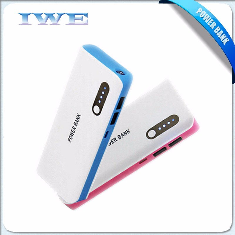 high quality power bank dual usb output 2A universal travel portable battery charger 50000 mah