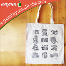 Classic Rolling Camera Shopping Tote Cotton Bag