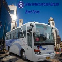 China 10m 44 seats left hand drive coach buses