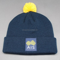 2015 CUSTOM LOGO KNITTED WINTER BEANIE HATS WHOLESALE