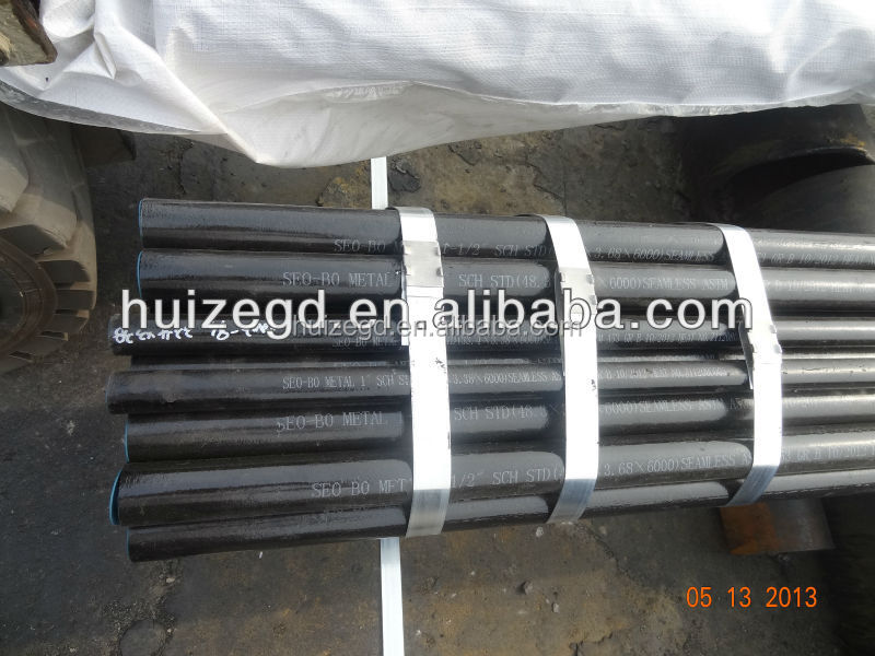 Color coated galvanized steel pipe and black tube with oil steel pipe