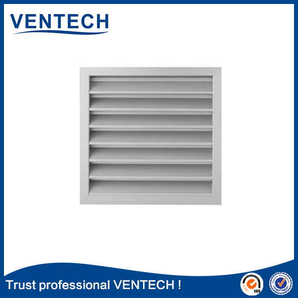 one piece waterproof air louver for ventilation use