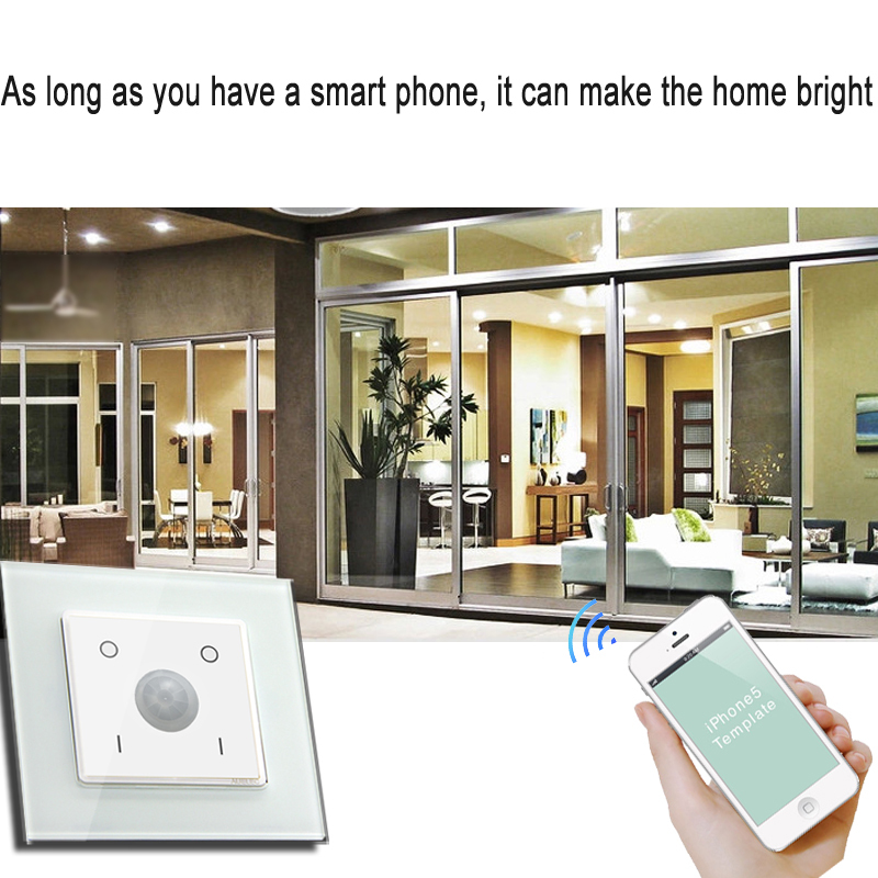 enocean smart home light switch wifi light switch wall. Black Bedroom Furniture Sets. Home Design Ideas
