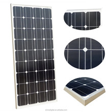 China best pv supplier color thin film 100w 12V mono solar panel