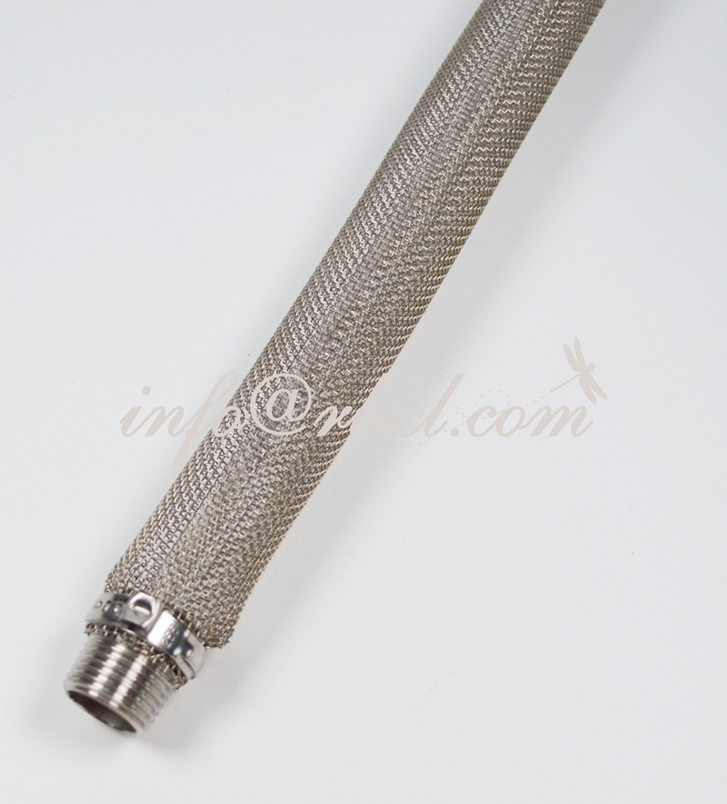 "12""NPT Bazooka Screen for Beer Filter/Mesh Filter, FOOD GRADE, Stainless steel, Home Beer Brewery, New"