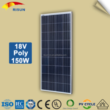 4BB 18V 150W Polycrystalline Solar Panel With Reasonable Price