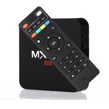 Factory price media player MX pro 4k Amlogic S905W Kodi 17.3 Andriod 7.1 WIFI smart OTT TV box XQ PRO