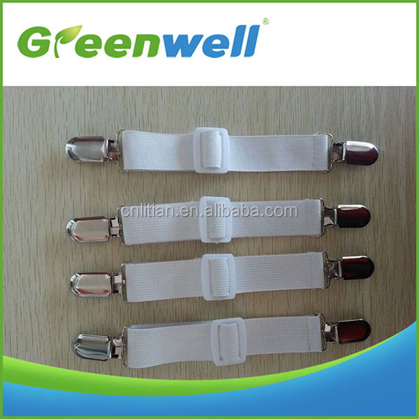 Fully stocked 4pcs elastic garter fastener strap