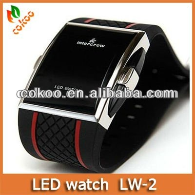 Rubber Men Watches Top Brand Name LW-2
