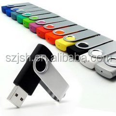 Colorful Swivel USB pendrive 2.0 Bulk 1gb 2gb 4gb 8gb 16gb 32gb 64gb USB Flash Drive Customized LOGO Twister usb flash memory
