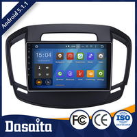 10.2 Inch 2 din 1.6GHz 1GB DDR3 Android car gps dvd player with Capacitive Multi touch Screen for Opel Insignia 2014 more