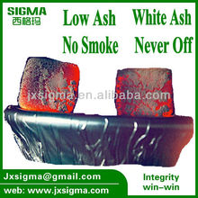 hookah coals shisha coal bulk lump charcoal/coal with 2-3hours burning time