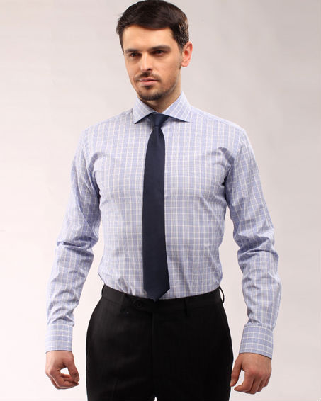 2014 high quality 100% cotton suit factory direct mens dress shirts