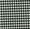 Houndstooth printed stretch khaki fabric