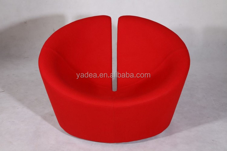 Unique living room true love chair, red apple chair chaise lounge sale