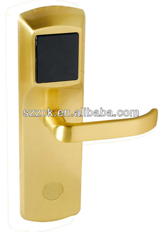 By Norway Designer with Pure Copper and RFID Card for Hotel Lock Stable,Reliable and Fast System Card Hotel Door Lock