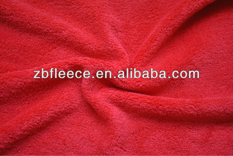 100% polyester antipilling/not antipilling 100% polyester thick polar fleece fabric