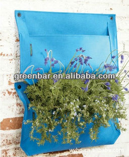 Garden Wall Planter, Hanging Wall Plants, Rail Planter Box