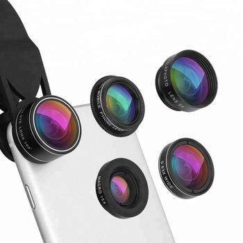 5 in 1 cell phone camera optical lens kit for android mobile phone camera lens