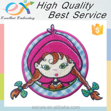 Trade Assurance custom iron on embroidery applique