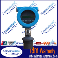 Low price Stainless Steel ultrasonic Water Level Transmitters/sonic water level meter/level sensor for ammonia tank