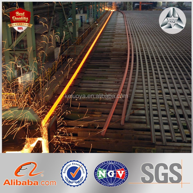 9kg/m railway with low price rail track 15kg/m steel rail