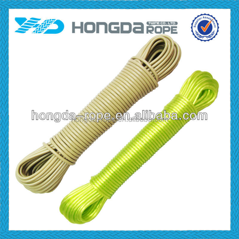 Plastic outdoor clothes linePP /polypropylene aundry Cloth Rope