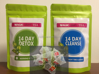 Chinese 100% Natural 14 Days Herbal Diet Tea Regular Strength Constipation Slimming Tea Burning Fat