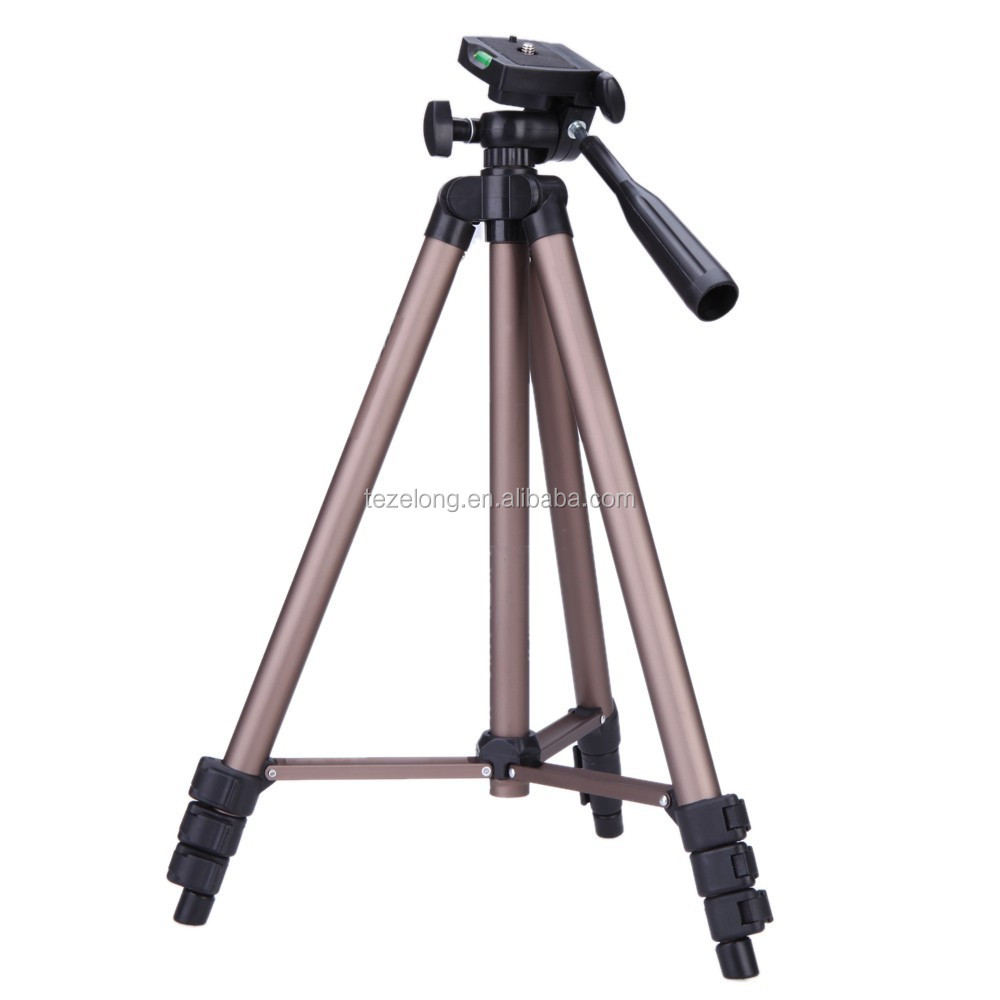 Best Portable Flexible Camera Tripod Weifeng WT-3130 Tripod and Support Camera Accessories Built-in bubble level with bag kit