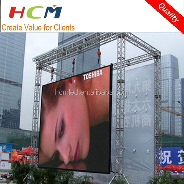full color Ourdoor panel P2 P2.5 P3 P4 P5 P6 led video wall / Outdoor full color P6 led