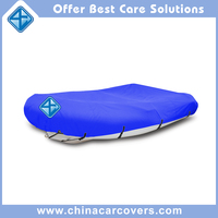"China supplier inflatable 12'6"" (380cm) lightweight small boat cover"