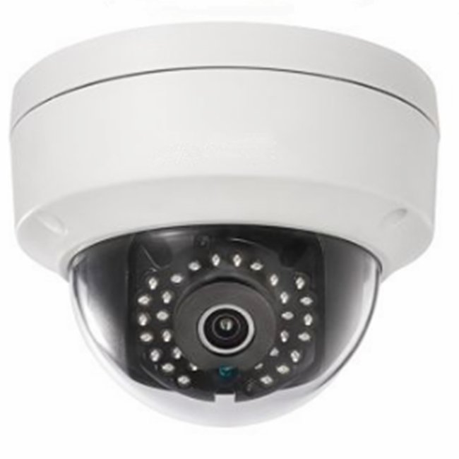 4MP HD WDR Fixed IR Network IP WIFI Dome Waterproof Indoor/Outdoor CCTV Camera with Audio Function DS-2CD2142FWD-I(W)(S)
