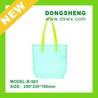 Hot Sale digital printing transparent PVC shopping bag