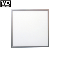 Westdeer silver led panel light 40w surface mounting frame for led panel 600x600
