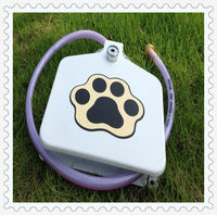 Dog accessory Pet food containers animal water feeder JF-008
