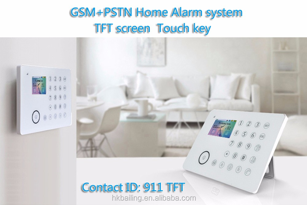 Safer APP control home applicances home automation fire GSM Alarm system security burgal alarm