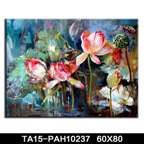 hand painted flower canvas oil painting, reproduction canvas painting,stretched wall art